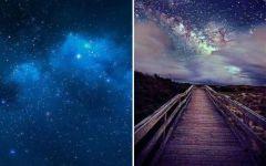 浪漫星空图片唯美图片