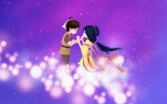 七夕图片浪漫卡通图片