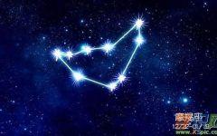 魔蝎座浪漫星空图片