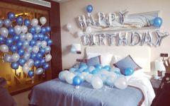 浪漫生日房间布置图片