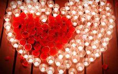 情人节浪漫蜡烛图片