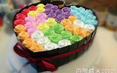 浪漫情人节蛋糕图片