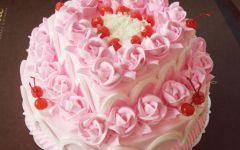 浪漫玫瑰蛋糕图片大全