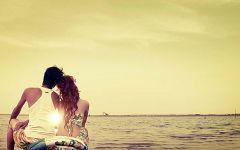 浪漫的情侣图片背景