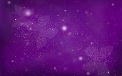 紫色温馨浪漫的图片