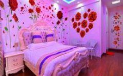 温馨浪漫房间布置图片