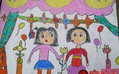 幼儿大班绘画图