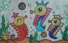 海底世界主题画