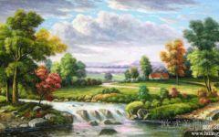 欧式油画风景画
