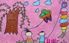 画一幅风筝的画