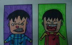 儿童画表情大全