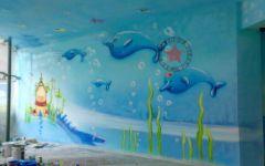 幼儿园室内壁画