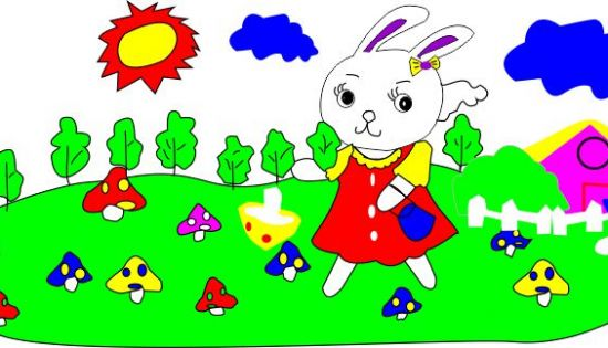 幼儿园卡通图画