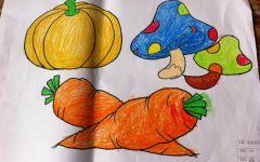 幼儿亲子绘画图