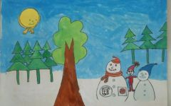 小学生插图画