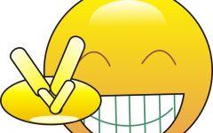 大黄脸表情图片抱头