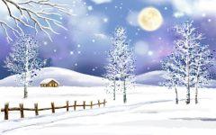 下雪图片唯美
