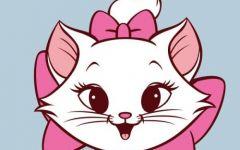 可爱猫卡通图片