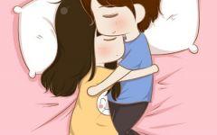 甜蜜小情侣卡通图片