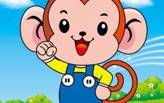 可爱猴子的卡通图片