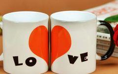 情侣杯子图片