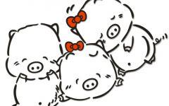 情侣猪图片可爱