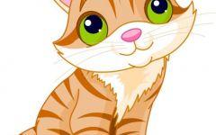 卡通猫图片可爱