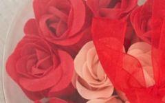 微信头像心形玫瑰花图片