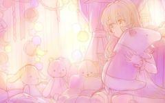 唯美粉色系图片