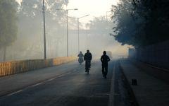 唯美街道清晨图片