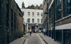 外国街道图片唯美