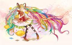彩虹动漫唯美图片