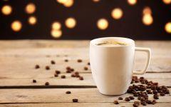 咖啡的照片唯美图片