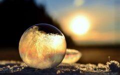 泡沫的图片唯美