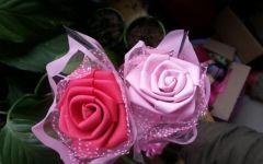 泡沫玫瑰花图片唯美