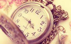 唯美时钟意境图片