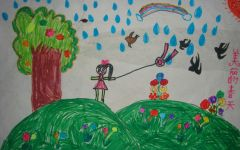 幼儿园绘画春天图片