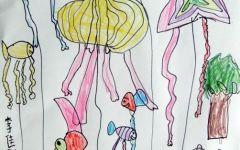 画一幅风筝图
