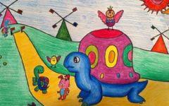 幼儿园油画