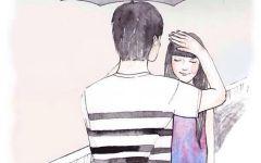 手绘爱情图案