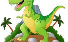 恐龙卡通图案