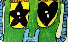 儿童画表情
