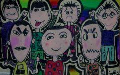 儿童画表情图