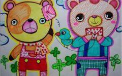 儿童二年级画