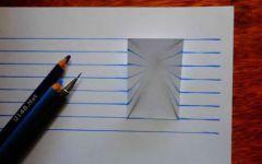 立体画楼梯