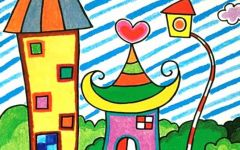儿童房屋简单画