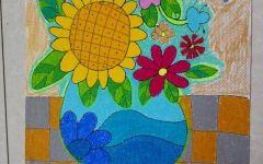 儿童植物画图片