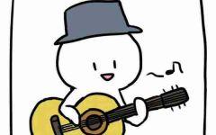 吉他动漫图片