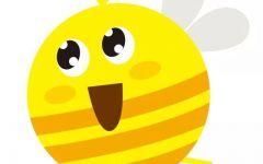 幼儿园画小蜜蜂