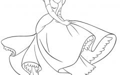 绘画公主裙